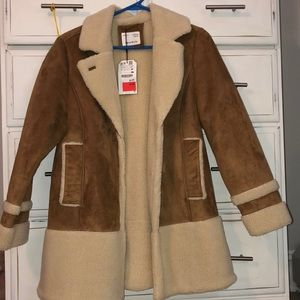 Zara Girls Coat - Size 13/14 ; Size XS NEW